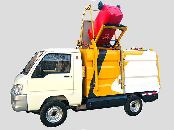 医院适用的电动垃圾运输自卸车