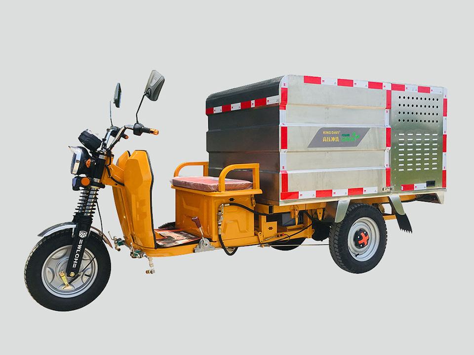小型环卫高压清洗车常见的故障介绍