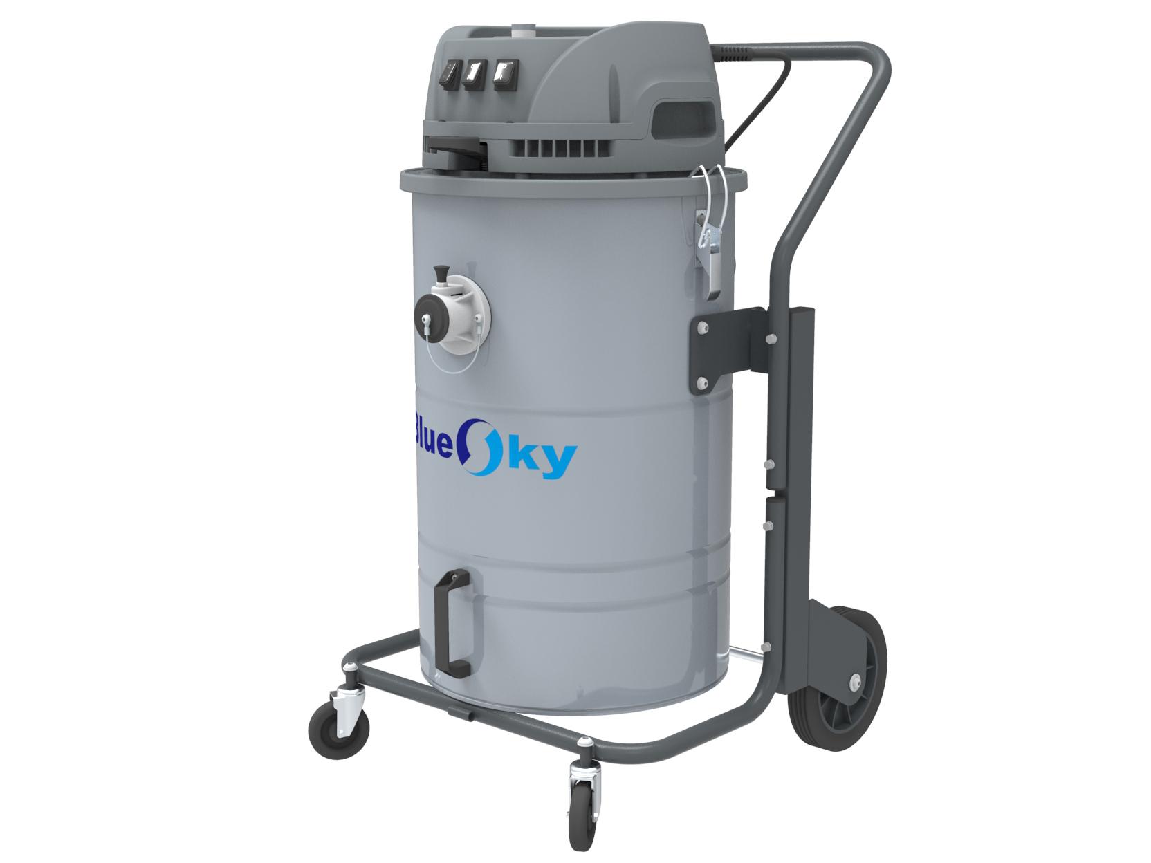 220V干湿两用单项电工业吸尘器