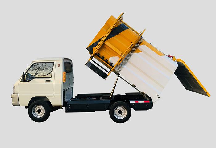 自卸电动垃圾清运车
