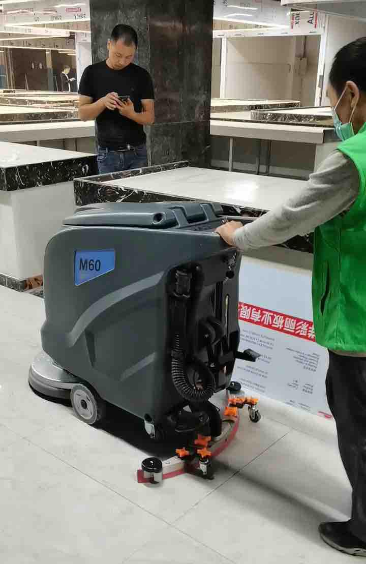 农贸超市改善环境就用洗地机