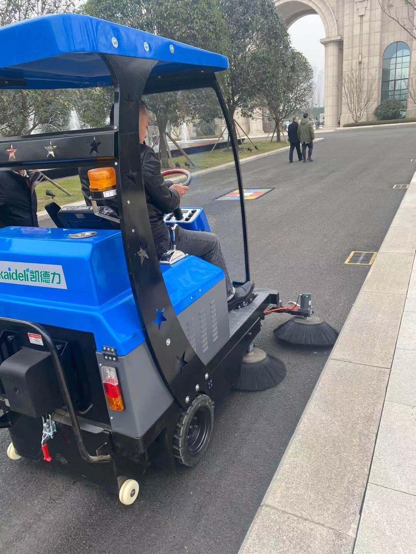 四川天一学院采购扫地机选择了成都宏雯公司