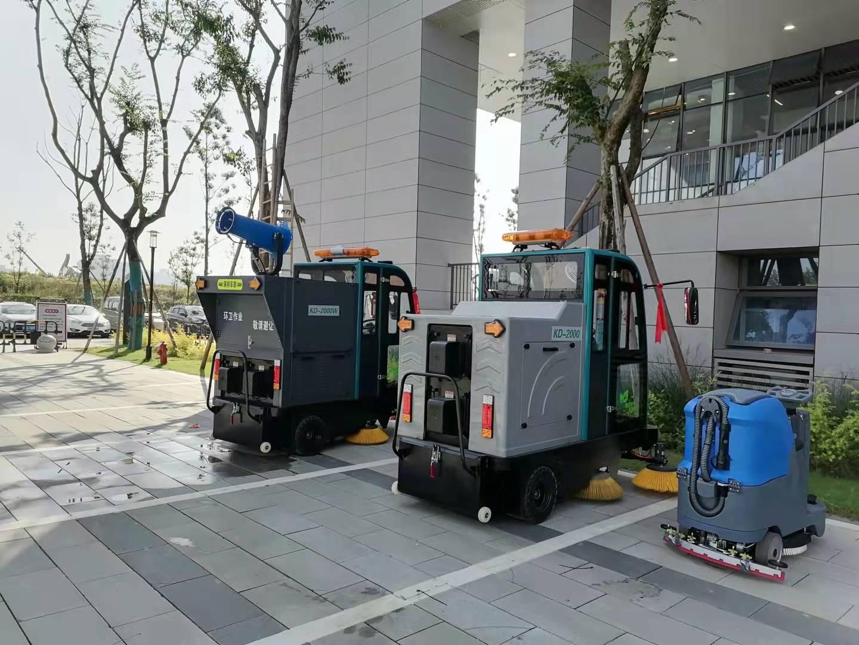 学校采购洗地机,扫地机选择成都宏雯公司